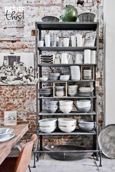 25 Modern Shelving Systems Bringing Industrial Vibe into Interior Design © Paulina Arcklin Raw Material Store Amsterdam Industrial Interior Design, Vintage Industrial Furniture, Industrial Living, Industrial Interiors, Industrial Style, Kitchen Industrial, Industrial Chair, Industrial Storage, Industrial Farmhouse