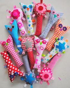 Criar com Tecidos: Chocalhos de tecido