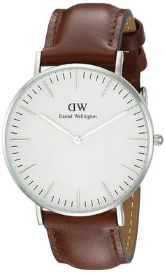 Daniel Wellington Women's 0607DW St. Mawes Watch with Brown Leather Band * Special  product just for you. See it now! : Leather Women Watches