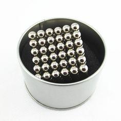 3mm 216 pz Magnete Magico Cubo Neo NdFeB Puzzle Metaballs Sfere magnetiche Cubo Magico Giocattoli Divertimento Nuovo Anno di Natale di Compleanno regalo