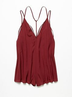 Free People Serious Babe Romper, $68.00