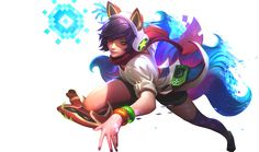 I take no claim in the art, the Arcade Ahri Splash art and all related League of Legends assets belong to Riot Games and their respective artists.