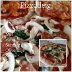 Pizzadeig på surdeig