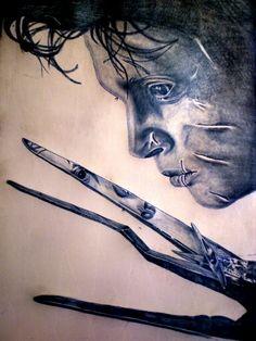 Tattoo Eduardo ManosTijeras Por LionCastleTattoo