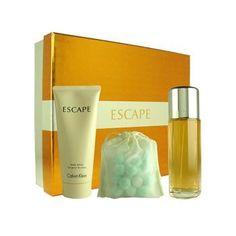 Escape  Gift  Set  by  Calvin  Klein  Perfume  for  Women  3  Piece  Set  Includes:  3.4  oz  Eau  de  Parfum  Spray  +  3.7  oz  Body  Lotion  +  1.2  oz  Effe - from my #perfumery