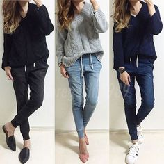 Office Fashion, Daily Fashion, Office Style, Female Fashion, Fashion Books, Skinny Jeans, Ladies Fashion, Skinny Fit Jeans, Feminine Fashion