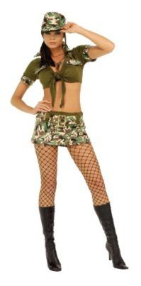 Rubies Costume Booty Camp Sergeant Womens Costume Isn't this dog costume just perfect for Halloween? #Dog #Costume #Puppy #Halloween2017