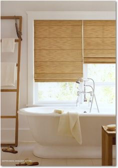 Hunter Douglas Batten Back Roman Shades have inverted tunnels that create a soft, tailored look when lowered and defined folds when raised. This style requires the least amount of dressing when raising or lowering the shade, looking great in any position.