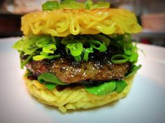 The Ramen Burger (no recipe, but inspiration)