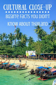 22 bizarre facts you didn't know about Thailand.
