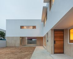 Contemporary Architecture, Art Nouveau, Garage Doors, Stairs, Exterior, Outdoor Decor, Design, Home Decor, Summer