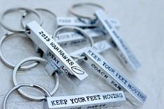 Check out this item in my Etsy shop https://www.etsy.com/listing/169466087/personalized-hand-stamped-keychain-coach