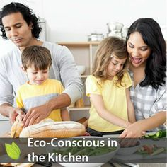 Ways to stay eco-conscious with food preparation! NEW on ethicalBlog: Eco-Conscious in the Kitchen