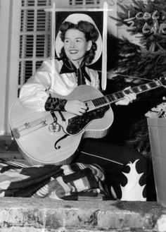 A January 1952 photo of Member, Bonnie Guitar, then known as Bonnie Tutmarc