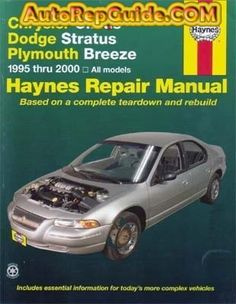 download free mitsubishi lancer 2001 2007 repair manual image rh pinterest com 2001 Dodge Stratus Fuel Pump 2000 dodge stratus repair manual