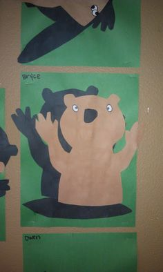 Groundhog day eileen greer emily berger mommy is my for Preschool crafts for february