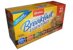 Nestle Carnation Instant Breakfast - 22 Packets /1.26 Oz Chocolate Flavor (22 Packets) by Nestle