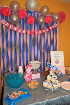 Are you looking for Paw Patrol Skye birthday party ideas? Discover Paw Patrol Skye inspired party decorations and easy puppy dog party treats! Kids Party Themes, Kids Party Decorations, Baby Shower Decorations, Birthday Party Themes, Party Fun, Birthday Ideas, Happy 5th Birthday, Paw Patrol Party, Party Entertainment