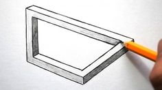 How to Draw Optical Illusions   Rectangle, Triangle, and Circle - http://www.moillusions.com/how-to-draw-optical-illusions-rectangle-triangle-and-circle/