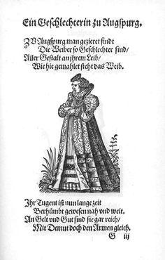 Frauen-Trachtenbuch 028.jpg A patrician of Augsburg.