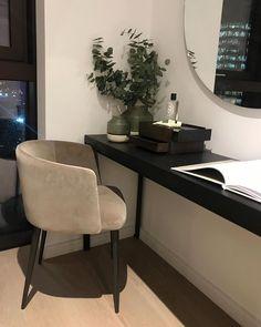 Make A Dressing Table, Dressing Room Decor, Dressing Chair, Bedroom Dressing Table, Contemporary Dressing Tables, Contemporary Sofa, Contemporary Interior Design, Modern House Design, Modern Furniture