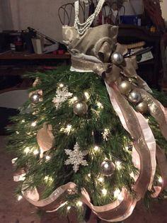 Christmas Tree Mannequin | christmas time | Pinterest ...