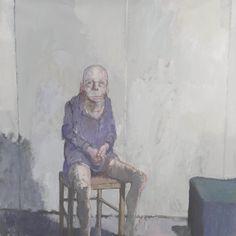 Jean Rustin (1928-2013), 'Homme à la veste violette', 1993, acrylic on canvas, 150 x 150 cm