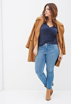 Stretch Fit Skinny Jeans | FOREVER 21 - 2000056976