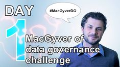 Here's my first video of the 10 day challenge: post a video each day with one advice on how YOU can become the MacGyver of Data Governance. 10 Day Challenge, Data Quality, First Video, Business Intelligence, Data Analytics, 10 Days, How To Become, Challenges, Advice