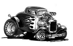 images of car art by george trosley | esign165 the work o f chris piscitelli w www