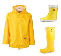 Rukka raincoat, Hai wellies by Nokia