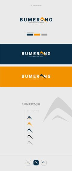 """Check out my @Behance project: """"Branding Bumerang"""" https://www.behance.net/gallery/45833189/Branding-Bumerang"""