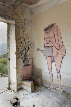 Nemo's - Italian Street Artist -Sicilia (IT) - 11/2014 - |\*/| #nemo's #streetart