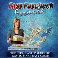 Easy Paycheck Formula was created by Sarah Young, who is a stay home mother of 6. It is an comprehensiveness program that shows you  how to make money with amazon physical products through article marketing. It contains at 87 page eBook and videos.