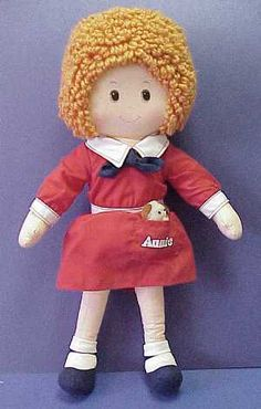 omgawd......this was my most favorite doll ever. i wish i still had these things :( loved me some Annie!!!!!