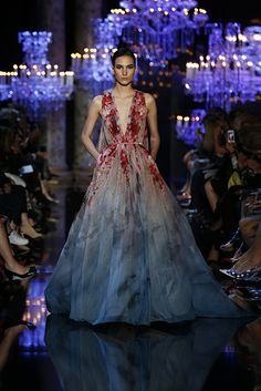 OMG LOVE IT! Owning an Elie Saab dress would be a dream come true  ELIE SAAB Haute Couture Fall Winter 2014-2015