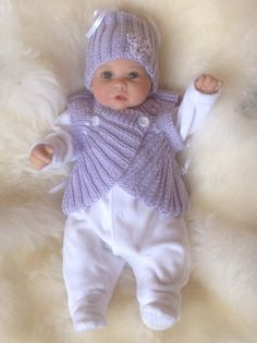 20 Best Preemies Images On Pinterest Baby Knitting Handarbeit And