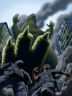 Czajnik's Workshop: Godzilla