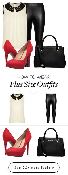 """""""11.08.2016."""" by crazygirlandproud on Polyvore featuring Studio, Darling, Jessica Simpson and MICHAEL Michael Kors"""