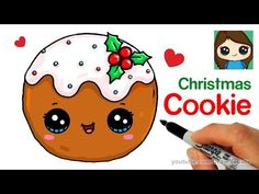 How to Draw Hot Chocolate with Marshmallows - Cartoon Food - YouTube