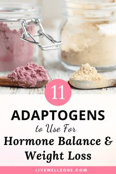 11 Adaptogens for Hormone Balance & Weight Loss - Live Well Zone Stress plays a major role in hormone imbalance and excess weight gain. Use these adaptogens for hormone balance and weight loss to transform your health. Weight Loss Meals, Weight Gain, How To Lose Weight Fast, Losing Weight, Herbs For Weight Loss, Herbal Weight Loss, Weight Loss Blogs, Loose Weight, Natural Detox