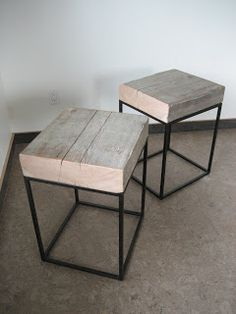 The Lucky Dumpster: Beam Block Tables