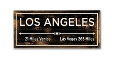 Add this bold wooden wall sign to any room for a wonderful reminder of a favorite city. A lightly distressed finish gives the piece a vintage feel.Perfect as gifts, ArteHouse signs add a touch of...