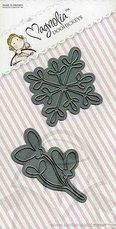 £15.99   SO: Magnolia DooHickey Cutting Dies - Snowflake and Mistletoe [1