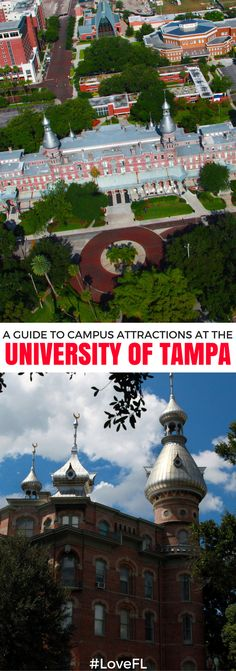 A Guide to Campus Attractions at the University of Tampa College Hacks, College Life, Tampa Apartments, Universities In Florida, Tampa Bay Hotels, University Of Tampa, College Ready, Dream School, Scavenger Hunts