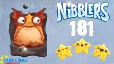 Nibblers - 3 Stars Walkthrough Level 181