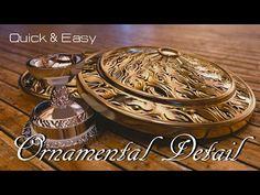 Blender Tutorial : Quick & Easy Ornamental Detail - YouTube