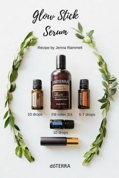 Here's a wonderful, natural recipe to get that beuaitful glowing and healthy skin! This roller bottle recipe uses the power of doTERRA Copaiba, Frankincense, and Blue Tansy essential oils.  www.thepricklypilotswife.com#doterra #skin #essentialoils