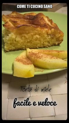 Torta+di+mele+facile+e+veloce.+Per+colazione,+merenda+o+voglia+di+dolce Dolce, French Toast, Breakfast, Food, Morning Coffee, Eten, Meals, Morning Breakfast, Diet