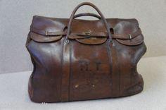 vintage leather mail bag gladstone